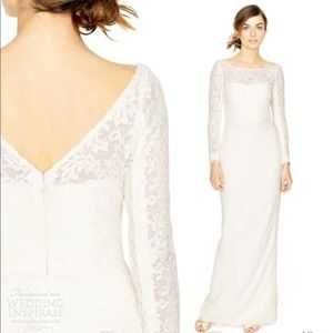 J. crew Lace Gown